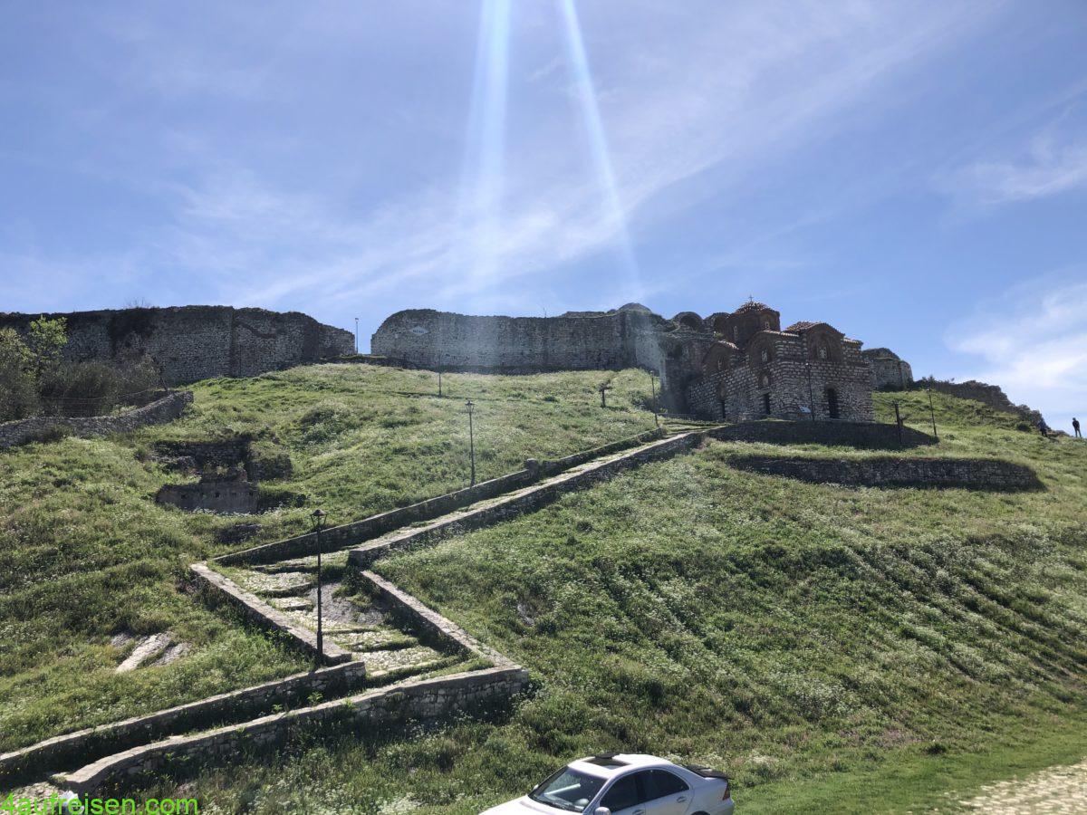 Berat Festung.