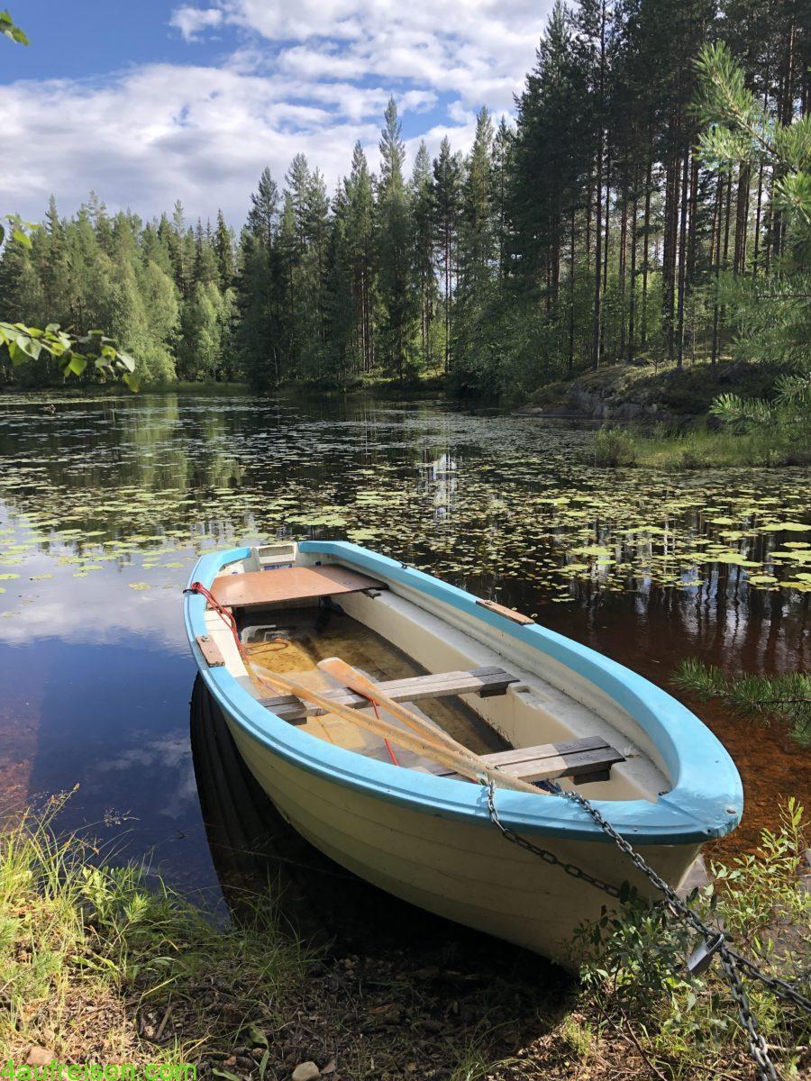 Boot und See.